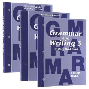 Homeschool Orders - Saxon/Hake Grammar and Writing