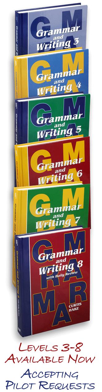 Grammar and Writing Textbooks